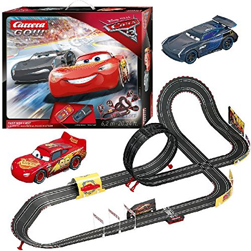Carrera 20062416 – Go!!! Disney/Pixar Cars 3 – Fast Not Last