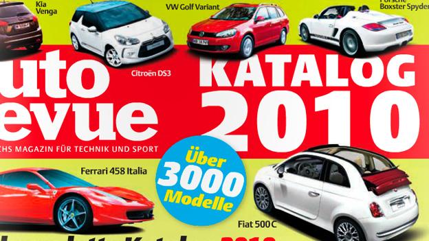 Autorevue Katalog 2010 - alle Autos, die 2010 in Österreich erhältlich waren