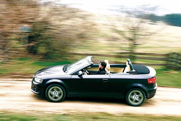 Audi A3 Cabrio 1,9 TDI Testbericht
