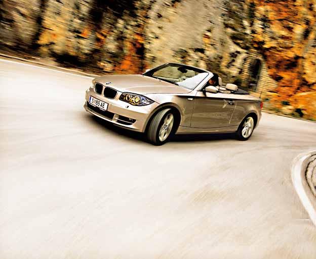 BMW 125i Cabrio Testbericht