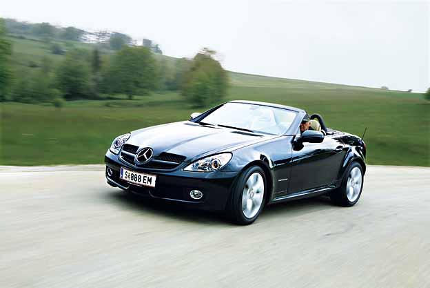 Mercedes-Benz SLK 200 Testbericht