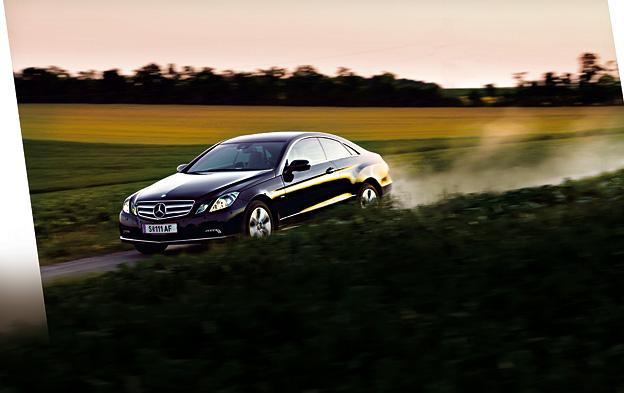 Mercedes-Benz E 350 CDI Coupé Testbericht