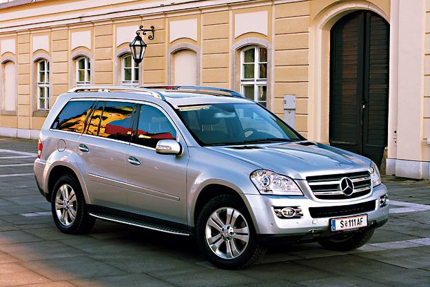 Mercedes-Benz GL 320 CDI Testbericht