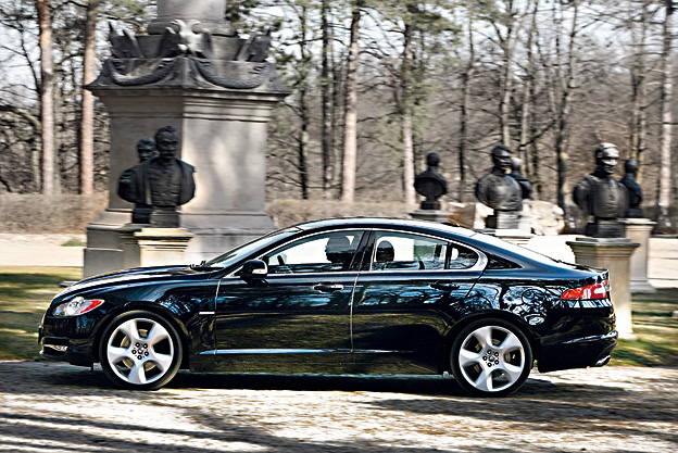 Jaguar XF 4,2 V8 Testbericht