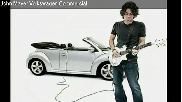 Rock im Auto