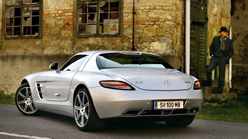 Mercedes-Benz SLS AMG: Alles, was der Phall ist