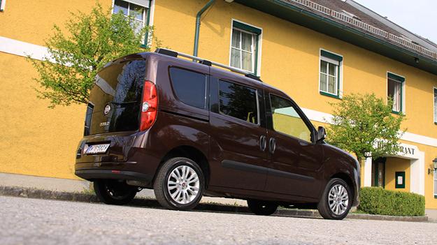 Fiat Doblo Exterieur Seite