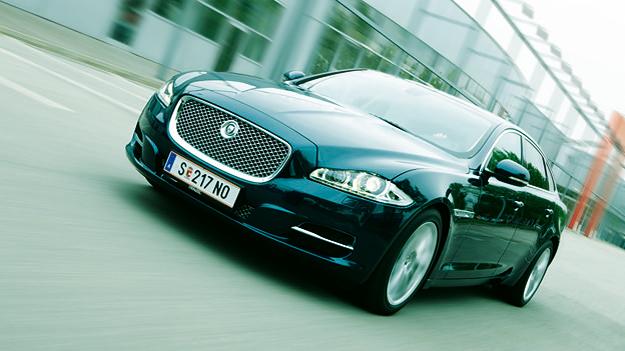 Jaguar XJ Exterieur Dynamisch Front