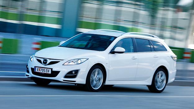 Mazda 6 Sportcombi Vorderansicht