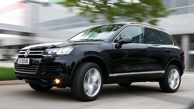 VW Touareg Exterieur Front