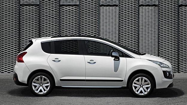 Peugeot 3008 Hybrid 4 Exterieur Statisch Seite
