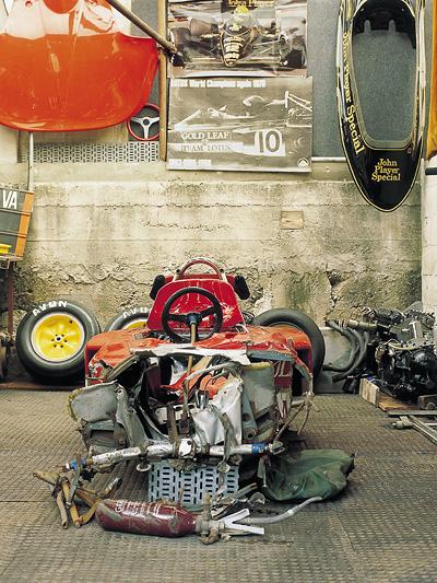 Jochen Rindt Jubiläum Wrack