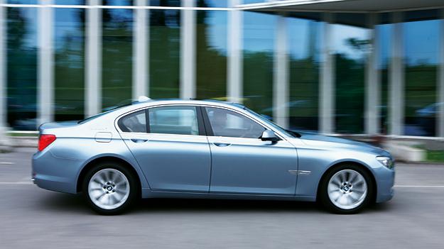 BMW ActiveHybrid 7 Exterieur Seite dynamisch