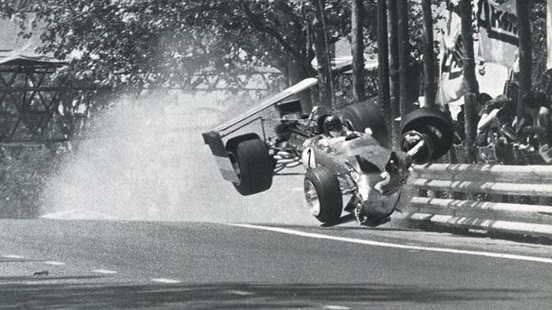 Jochen rindt Jubiläum Unfall Barcelona 1969