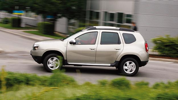 Dacia Duster Exterieur dynamisch Seite