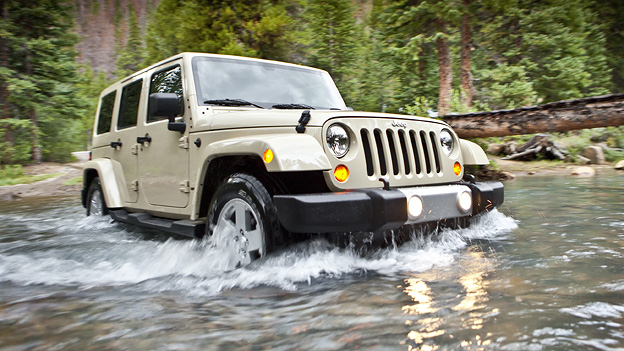 Jeep Wrangler 2011 Exterieur dynamisch Front