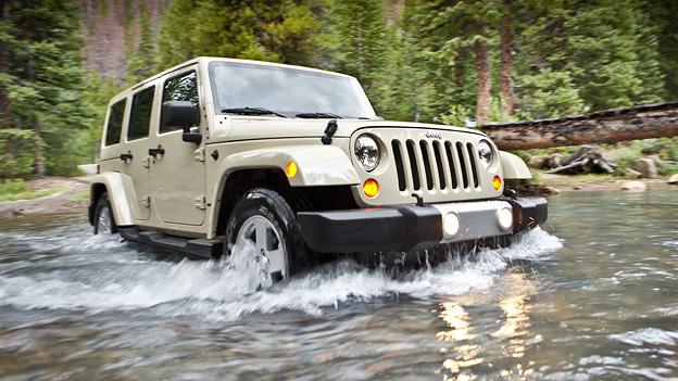 Jeep Wrangler 2011 Exterieur dynamisch Front