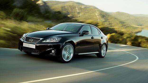 Lexus IS Exterieur dynamisch front seite