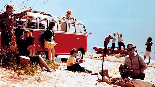 Zeitmaschine Das Jahr VW Sambabus 1951
