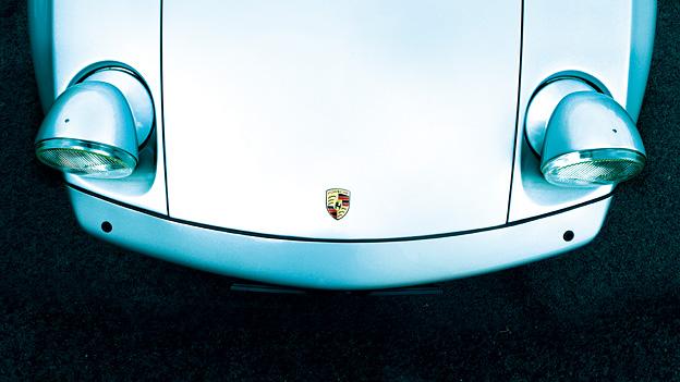 1977 Porsche 928 Zeitreise Exterieur Front oben