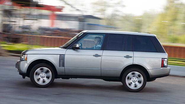 Range Rover 3,6 TDV8 Exterieur Seite
