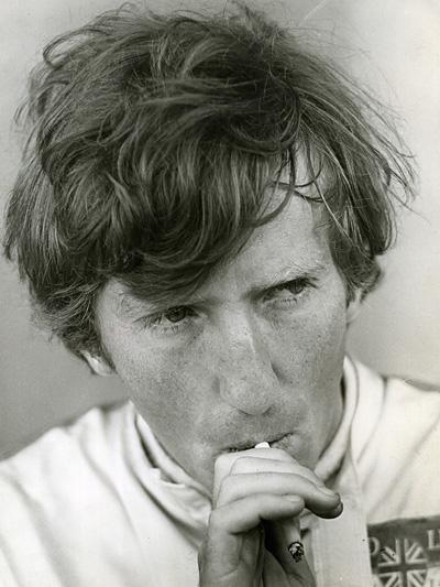 Jochen Rindt Zigarette Jubiläum.