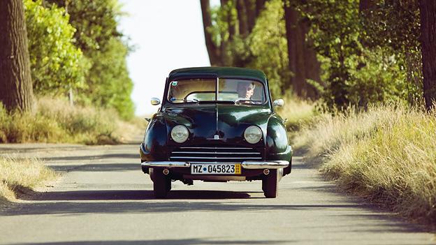 Zeitmaschinen 1949 Saab 92 Kurt Pinter Exterieur Front