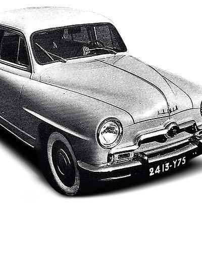 Zeitmaschine 1951 die anderen Simca 9 Aronde