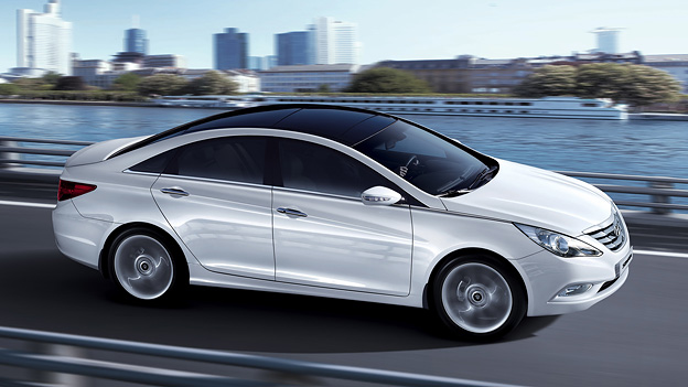 Hyundai Sonata 2011 Exterieur Seite