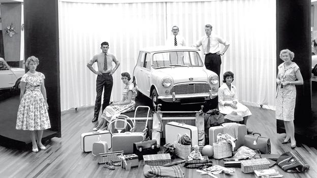 Zeitmaschine 1959 Das Jahr Mini