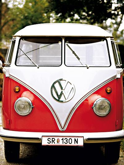 Zeitmaschinen 1951 VW Sambabus Front Exterieur statisch