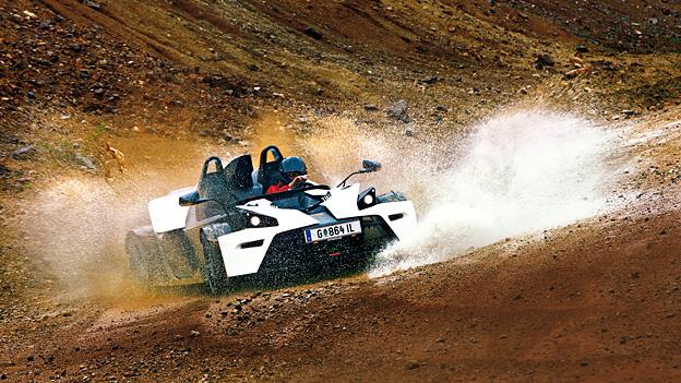 KTM X BOW Exterieur dynamisch Front Erzberg