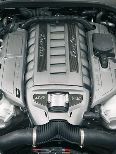 Porsche Panamera Motor