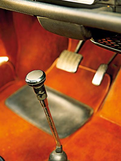 Zeitmaschine 1967 NSU RO80 Interieur