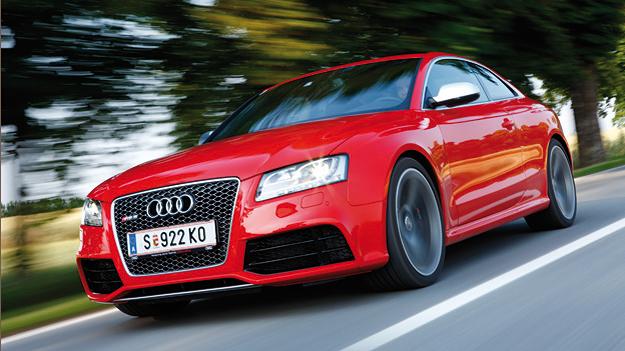 Audi RS5 Exterieur dynamisch Front