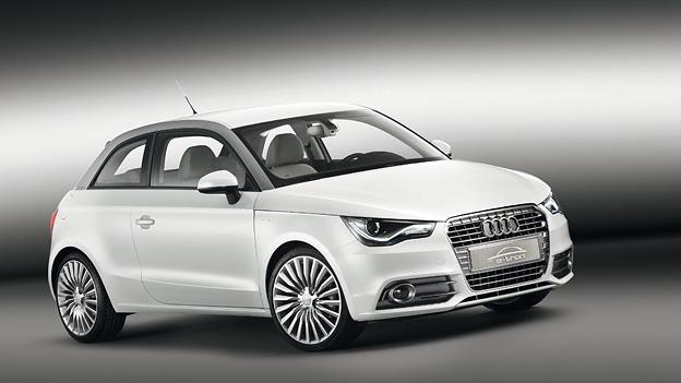 Audi A1 etron elektrisch Range Extender Exterieur Statisch Front