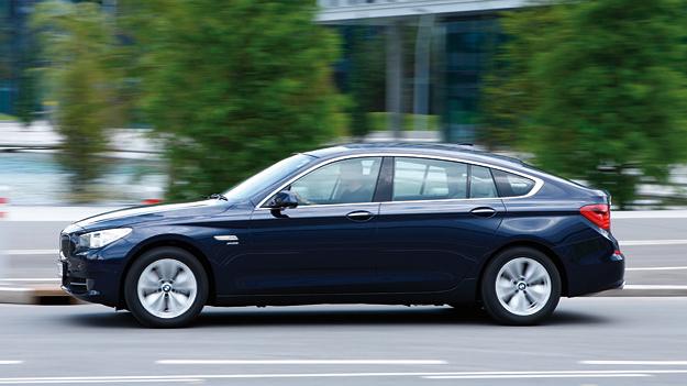 BMW 5er GT Exterieur Dynamisch seite
