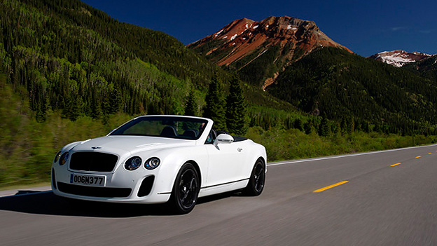 Bentley Continental Supersportss Convertible Exterieur Dynamisch front