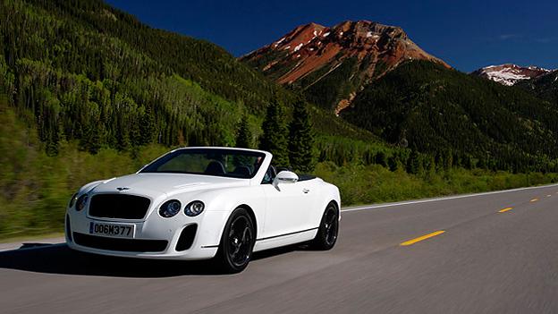 Bentley Continental Supersportss Convertible Exterieur Dynamisch front
