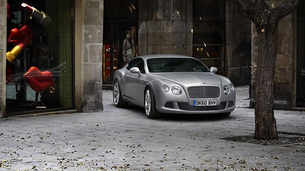Bentley Continental GT statisch VoRe