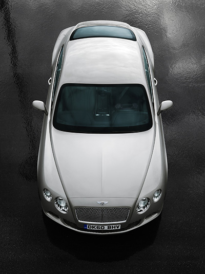 Bentley Continental GT statisch Front