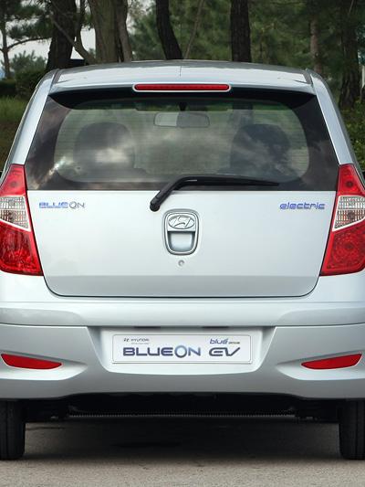 Hyundai BlueOn Exterieur Seite statisch