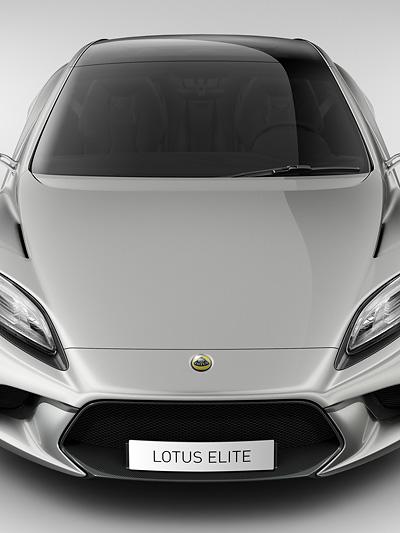Lotus Elite Exterieur Statisch Front