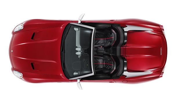 Ferrari SA Aperta Exterieur Statisch Oben