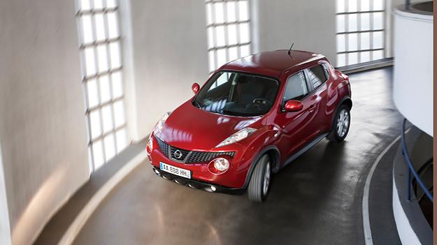 Nissan Juke Exterieur Dynamisch oben Front