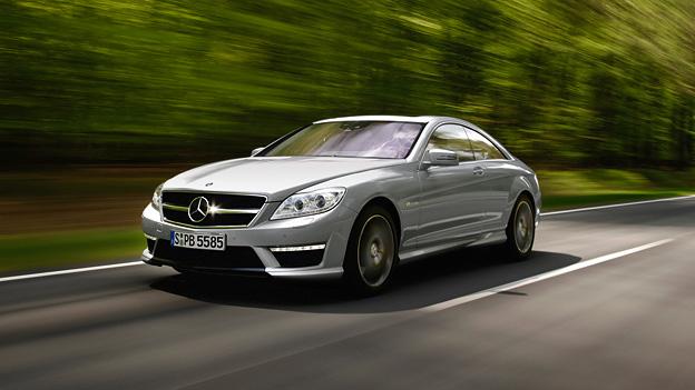 Mercedes benz CL 63 AMG Exterieur Dynamisch Front