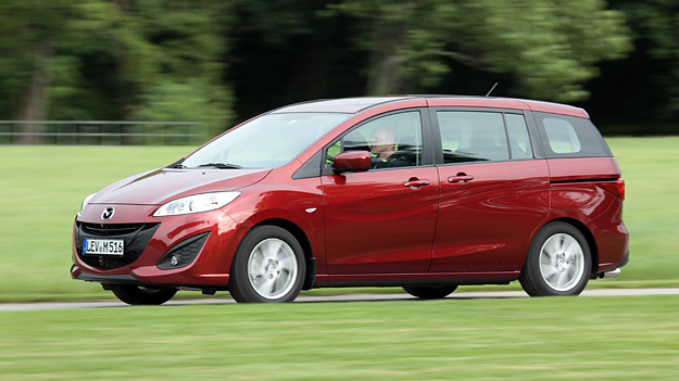 Mazda 5 Exterieur Dynamisch Seite