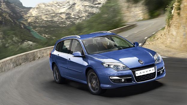 Renault Laguna Exterieur Front dynamisch