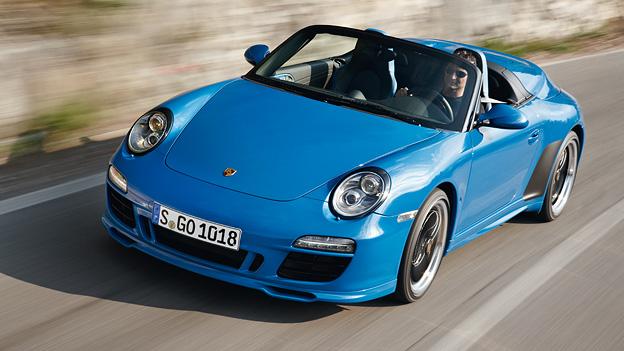 Porsche 911 Speedster Exterieur Front dynamisch
