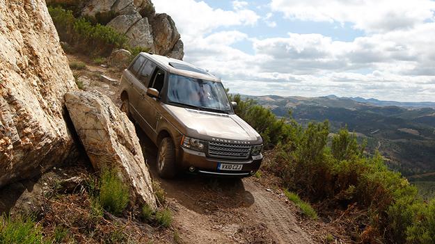 Range Rover 4,4 TDV8 Exterieur dynamisch front